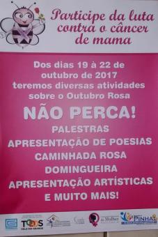 PROGRAMAÇÃO OUTUBRO ROSA 2017