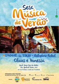 SHOW - CLAUS e VANESSA