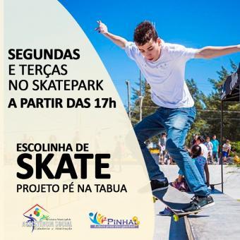 Aulas de Skate - Pé na Tábua