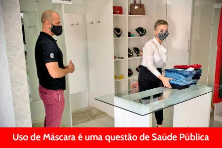 O USO DE MÁSCARA É UMA RESPONSABILIDADE DE TODOS