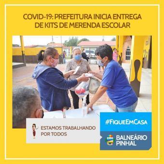 Prefeitura inicia entrega de Merenda Escolar