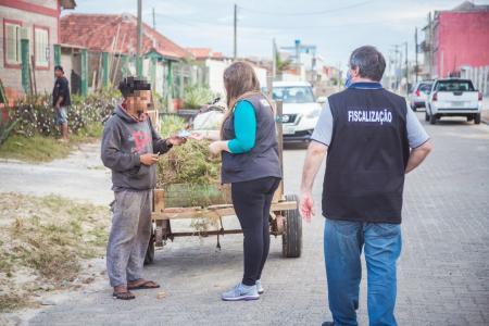 Prefeitura intensifica fiscalização em Balneário Pinhal