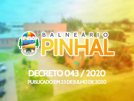 Decreto 043 - 2020