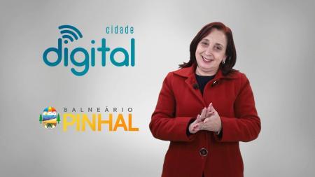 Balneário Pinhal agora é Digital!