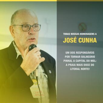 Nota de pesar - José Cunha