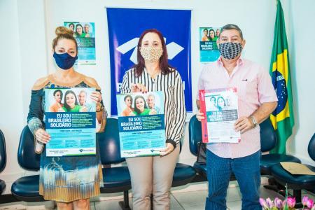 """Campanha """"Eu sou brasileiro solidário"""""""