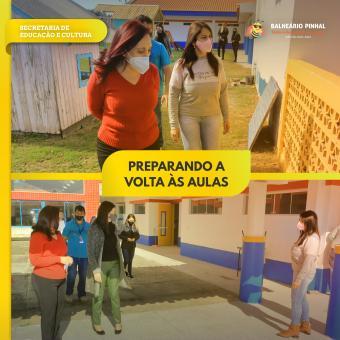 Prefeitura prepara escolas para o retorno das aulas
