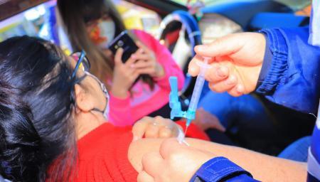 Balneário Pinhal alcança 89.9•/• de vacinados contra Covid19 com primeira dose